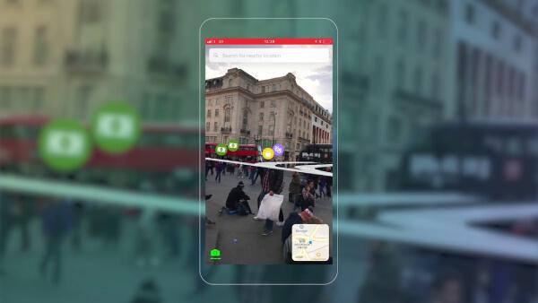 ứng dụng du lịch điều hướng VR & AR